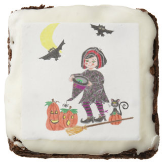 Witch 2 Halloween brownies Square Brownie