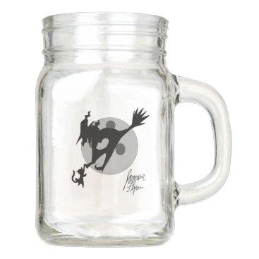Witch 2 mason jar