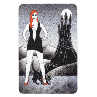 WITCH 3 RECTANGULAR PHOTO MAGNET