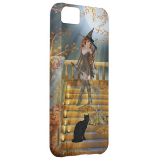 Witch an Spell Book iPhone 5C Cases