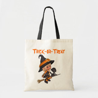 Witch and Cat Bag