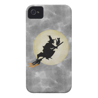 Witch and Cat iPhone 4 Case-Mate Case