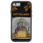 Witch and cat, Happy Halloween! Tough Xtreme iPhone 6 Case