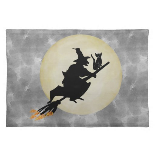 Witch and Cat Placemat
