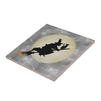 Witch and Cat Tiles