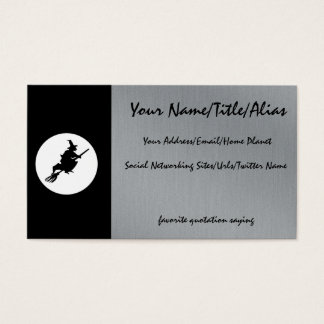 Witch and Cats Business Card