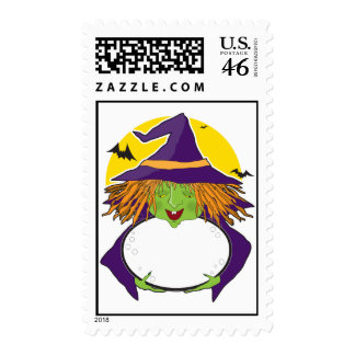 Witch and Cauldron Stamps