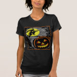 Witch and Jack o lantern Shirts
