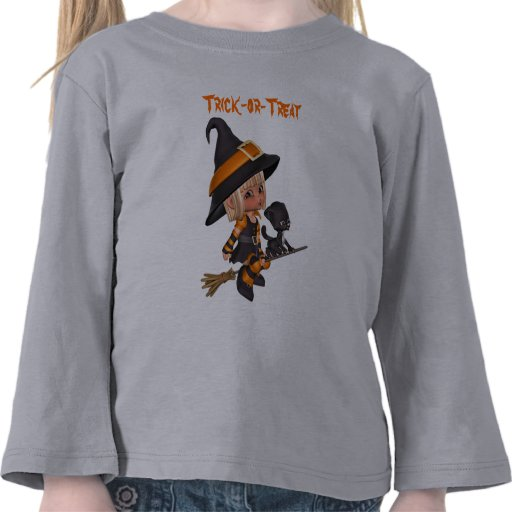 Witch and Kitten T-shirt