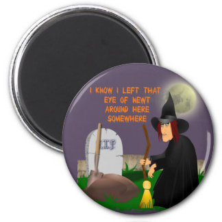 Witch and Newt Magnet