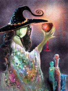 Witch Potion Postcards   Zazzle