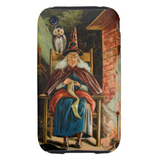 Witch at Fireplace iPhone 3 Tough Case