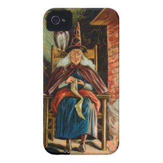 Witch at Fireplace iPhone 4 Case