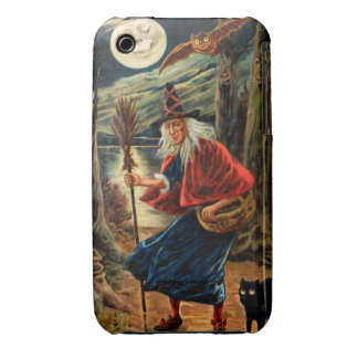 Witch at Halloween Night Case-Mate iPhone 3 Cases