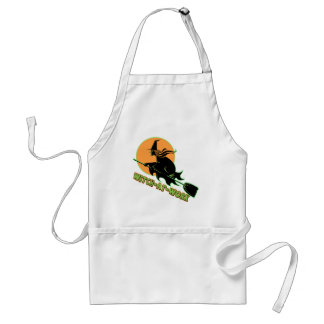 Witch At Work Apron