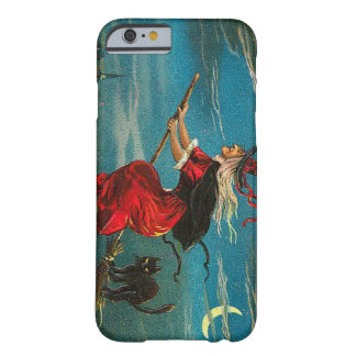 Witch Black Cat Crescent Moon Barely There iPhone 6 Case