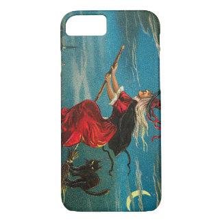 Witch Black Cat Crescent Moon iPhone 7 Case