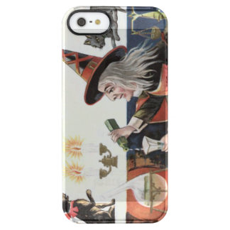 Witch Black Cat Spell Magic Candle Clear iPhone SE/5/5s Case