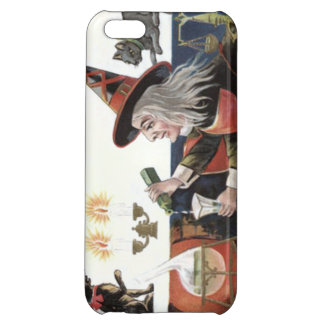 Witch Black Cat Spell Magic Candle iPhone 5C Cases