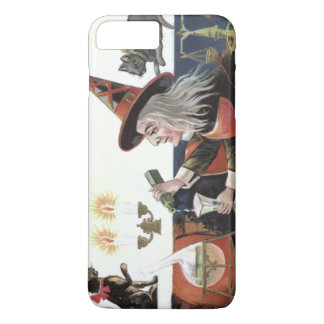 Witch Black Cat Spell Magic Candle iPhone 8 Plus/7 Plus Case