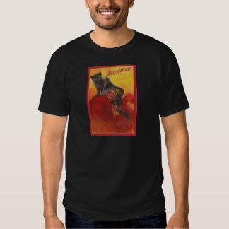 Witch Black Cat Vintage Halloween Shirt