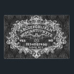"""Witch Board place mat 2 sided<br><div class=""""desc"""">www.shayneofthedead.com</div>"""