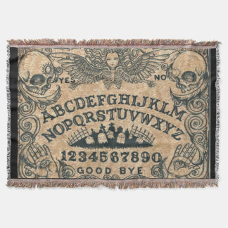 Witch Board throw blanket