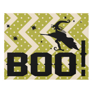 Witch BOO! Panel Wall Art