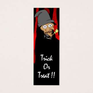 Witch Bookmark Mini Business Card