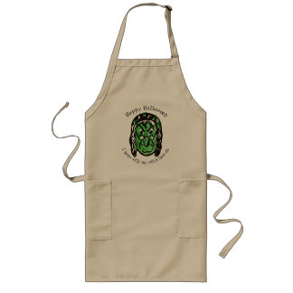 Witch Brew Apron - Custom Green Witch Face
