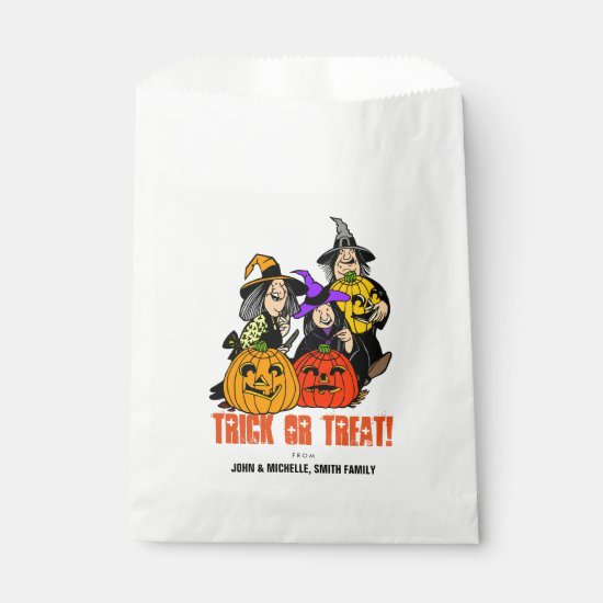 Witch Brew Halloween Trick or Treat Favor Bag