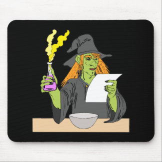 Witch brewing postion mousepad
