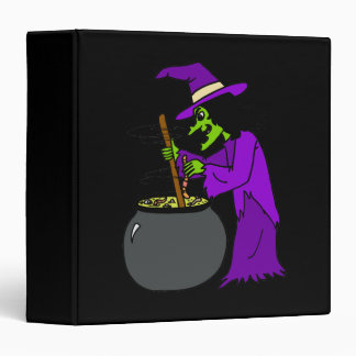 Witch brewing potion binder
