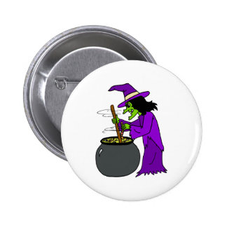 Witch brewing potion buttons