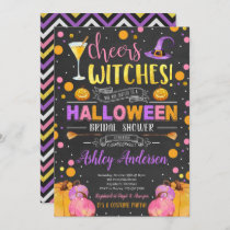 Witch Bridal Shower Invitation Cheers Witches