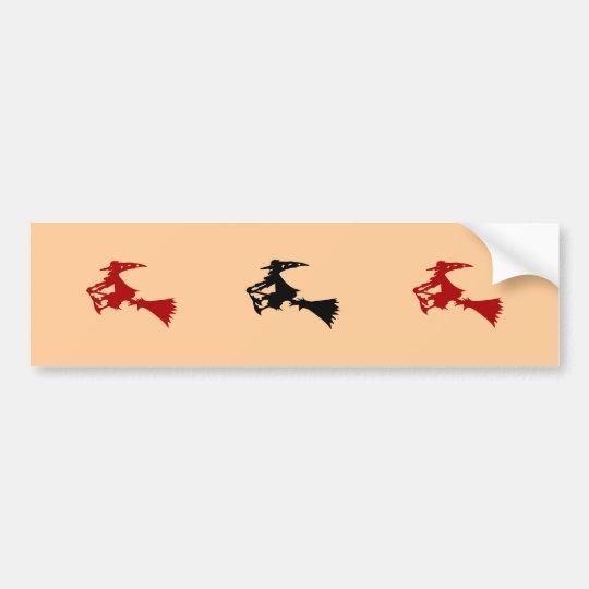 Witch Bumper Stickers