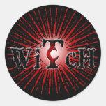 Witch Burst Stickers