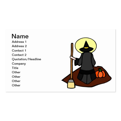 Witch Business Card