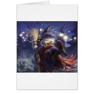 Witch Greeting Card