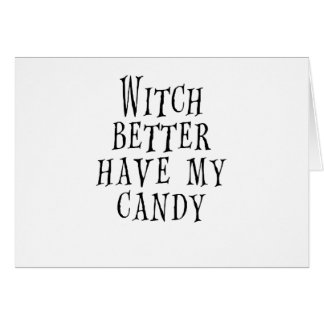 Witch Card