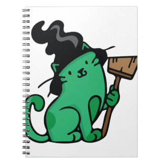 Witch Cat Notebook