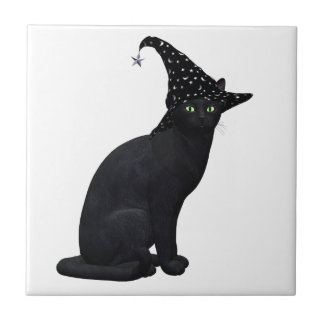 Witch Cat Tile