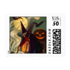 WITCH & CAULDRON HALLOWEEN STAMPS ~ MATCH INVITE
