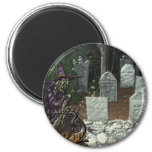 Witch Cemetery Magnet