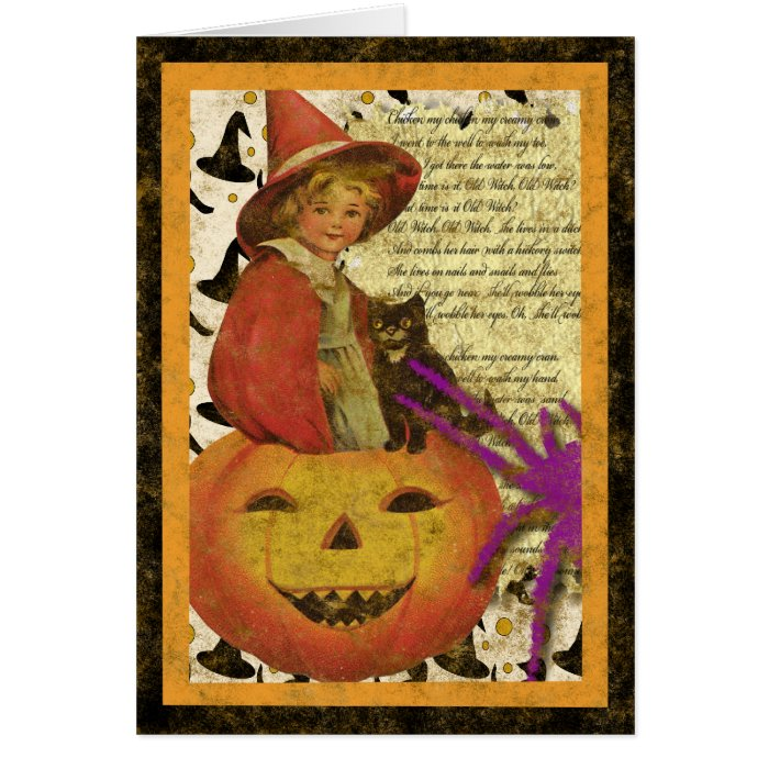 witch-child card