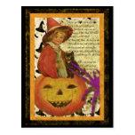witch-child postcards