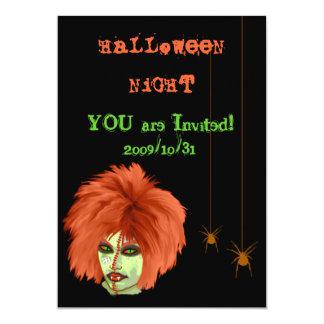 witch club 5x7 paper invitation card