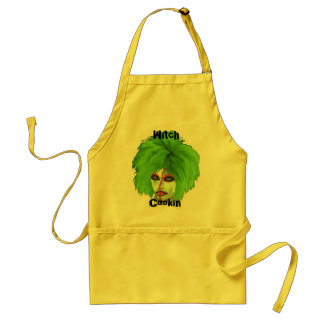 witch club adult apron