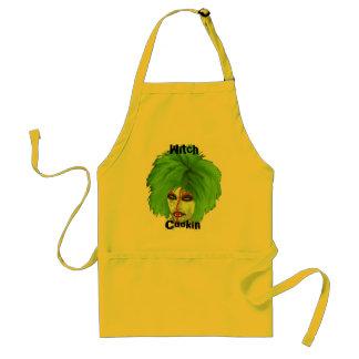 witch club adult apron