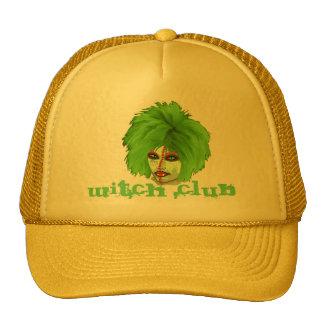 witch club trucker hat